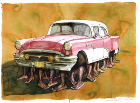 Armando Mariño, La Patera / The Raft, 2002. (Courtesy the Farber Collection)