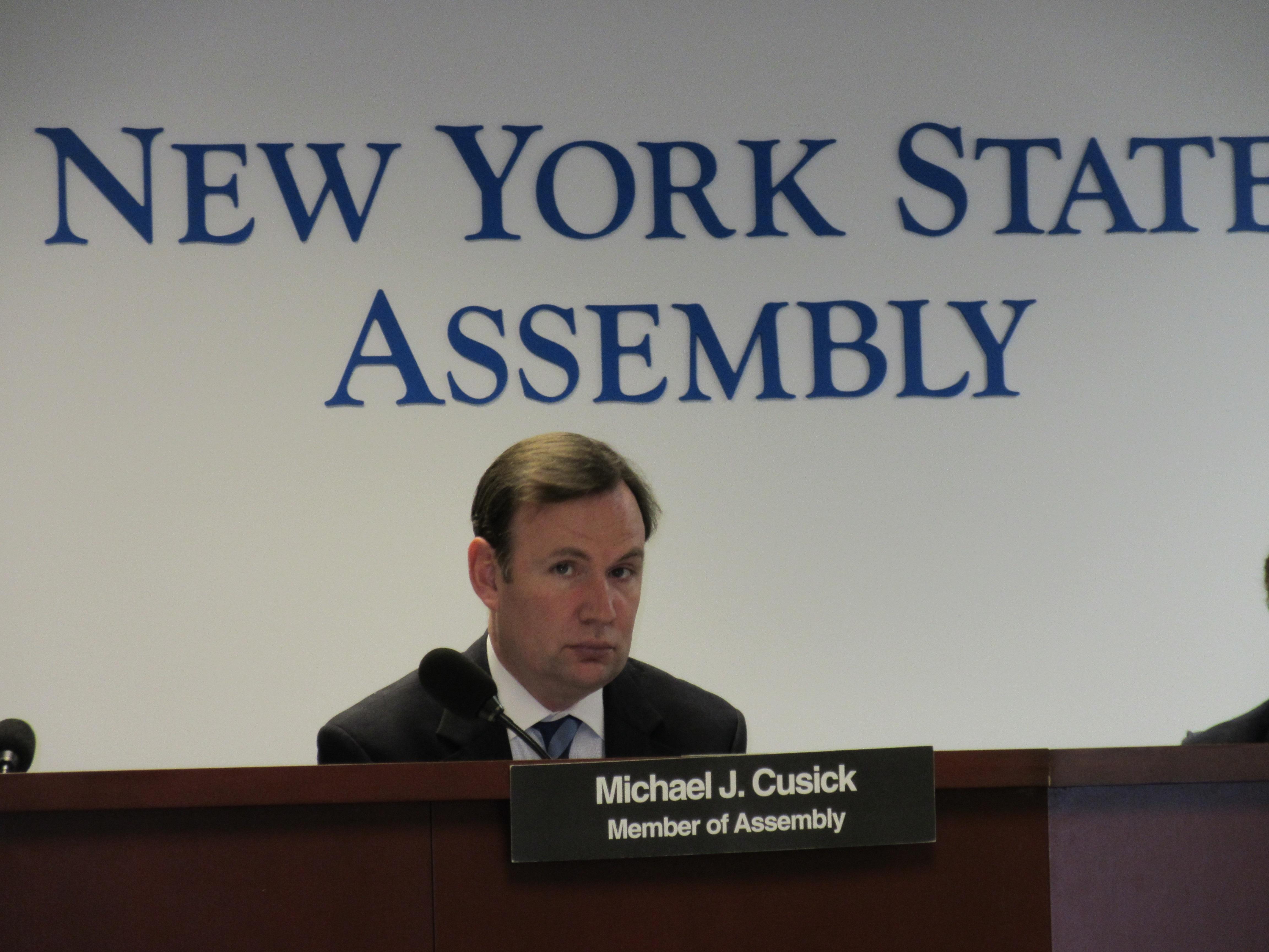 Assemblyman Michael Cusick (Photo: Will Bredderman).