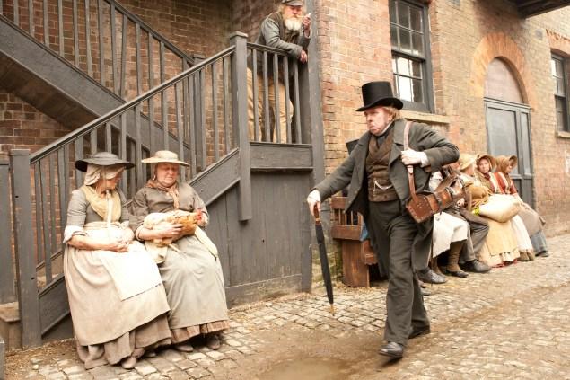 Timothy Spall as J.M.W. Turner.