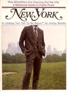 Jimmy Breslin's 1969 New York Magazine cover story.