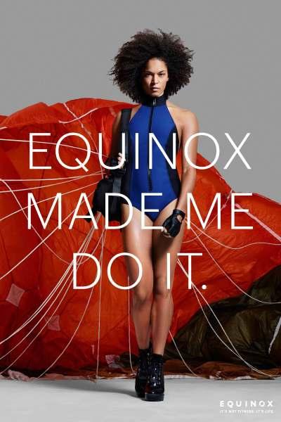 A photo from Equinox's 2015 campaign. (Photo via Equinox)