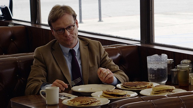 Andy Daly as Forrest MacNeil in Review.