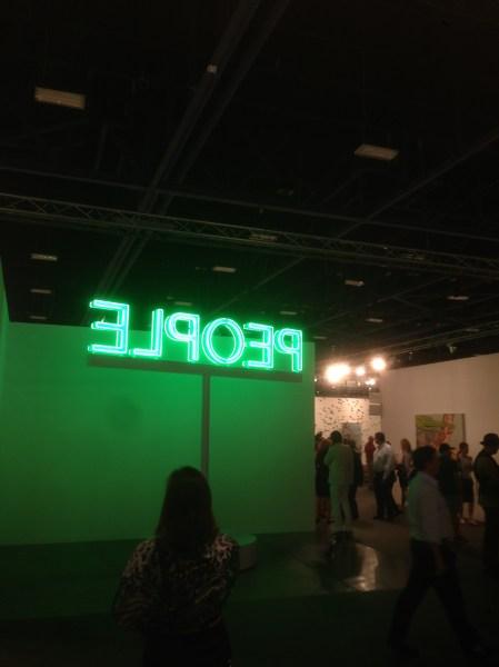 A Martin Creed installation at Gavin Brown's Enterprise. (Photo by Nate Freeman)