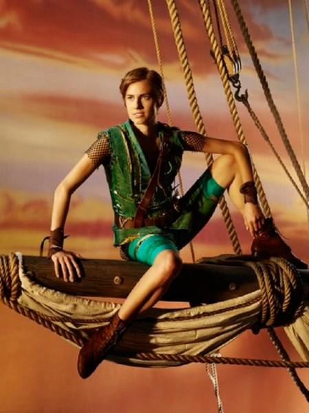 Allison Williams as Peter Pan. (NBC)