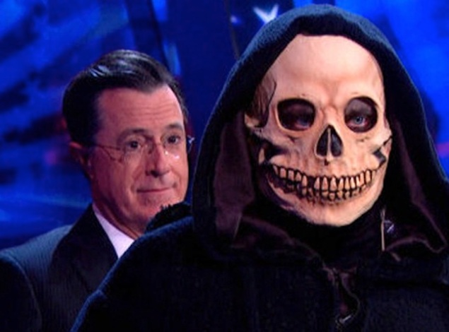 The final episode of The Colbert Report.