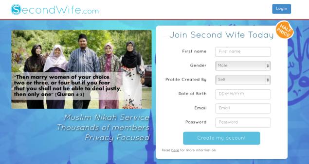 The homepage of SecondWife.com (SecondWife.com)