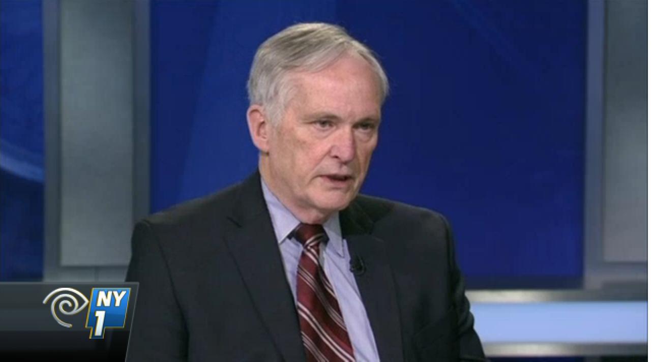 Commissioner Joseph Ponte. (Screenshot: NY1)