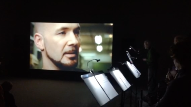 A Concert for Elephants, featuring 11 musicians, compliments the film Apotome (2013), on view at the Philadelphia Museum of Art.