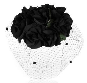 Benoît Missolin Grace silk and rabbit-felt headpiece, $670.