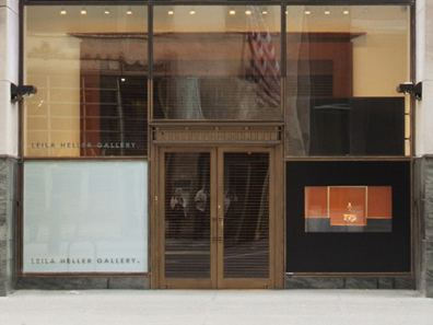 Leila Heller's Now-Shuttered space on W. 57th Street. (Courtesy Leila Heller Gallery)
