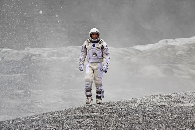Matthew McConaughey in Interstellar.