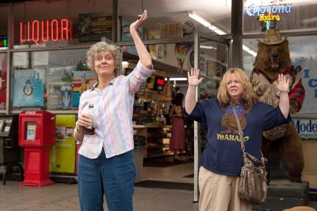 Susan Sarandon, left, and Melissa McCarthy in Tammy.