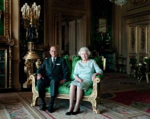 Thomas Struth, Queen Elizabeth II and the Duke of Edinburgh, Windsor Castle, 2011