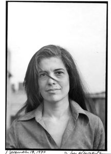 "In 1977, 30 years before the selfie era, Sontag wrote  in 'On Photography,' ""Today everything exists to end in a photograph."" (Jill Krementz) from , 1977"