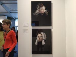 A pair of Hendrik Kristens at Danziger Gallery.