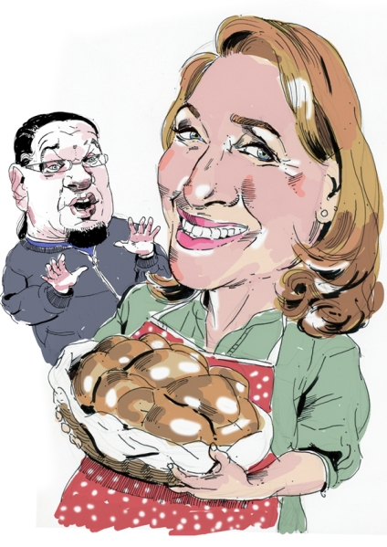 Judy Gold not worried about Penn Jilette anymore. ( Illustration by Paul Kisselev)