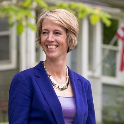 Democrat Zephyr Teachout is running for Congress in New York's 19th District. She faces Democrat Will Yandik in a primary that takes place Tues, June 28, and whoever wins that will take on John Faso or Andrew Heaney in November.