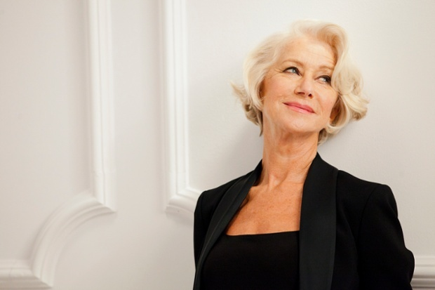 Helen Mirren models for L'Oreal (Photo: L'Oreal).