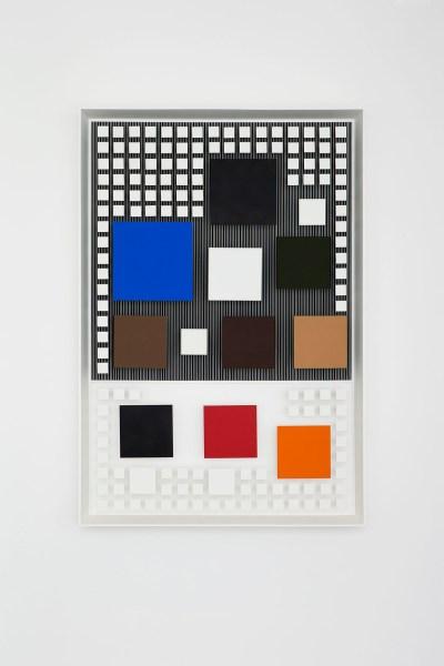 Un orange inférieur by Jesús Rafael Soto, (1984). (CLAIRE DORN/ © Jesús Rafael Soto / Artists Rights Society (ARS), New York / ADAGP, Paris, 2015 Courtesy Galerie Perrotin)
