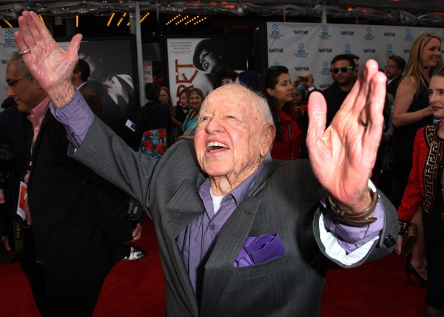 Mickey Rooney. (Photo via Getty Images)