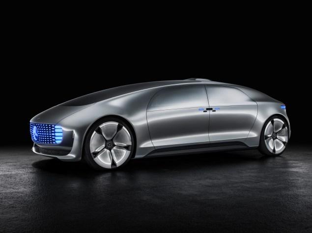 The F015 (Photo: Mercedes-Benz).