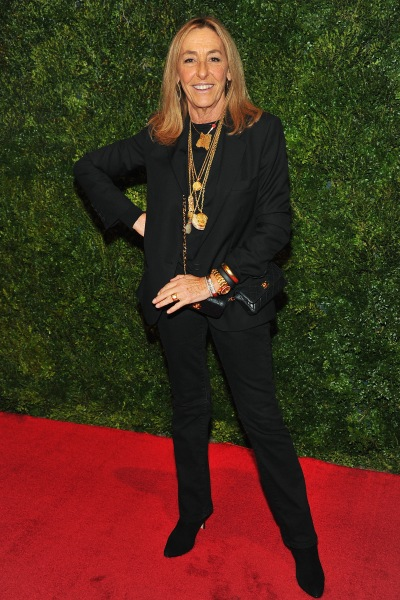 Ms. Cerf de Dudzeele at a screening of HBO's Vogue: The Editor's Eye. (Photo via Getty)