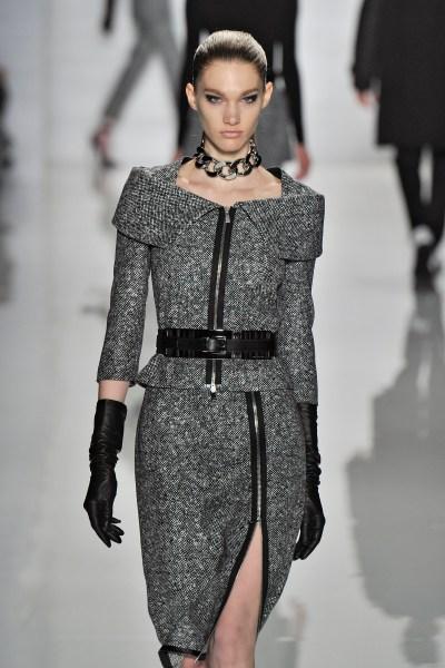 A model walks the runway for Michael Kors in 2013. (Photo via Getty)