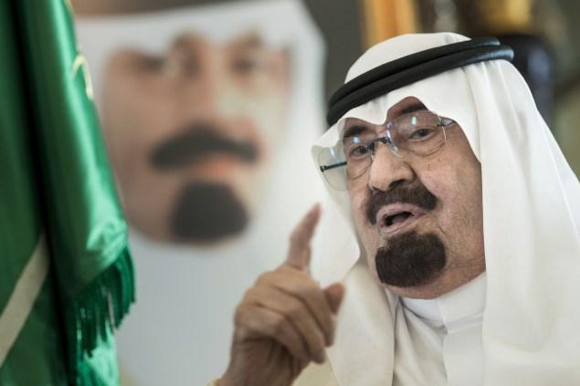 King Abdullah of Saudi Arabia (Photo: Getty Images).