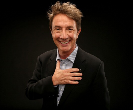 Martin Short plays a TV star happy he escaped the flop.