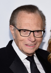 Larry King hosts a program on RT. (Photo by Larry Busacca/Getty Images)