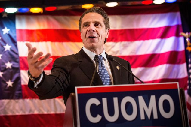 Gov. Andrew Cuomo. (Photo: Andrew Burton for Getty Images)