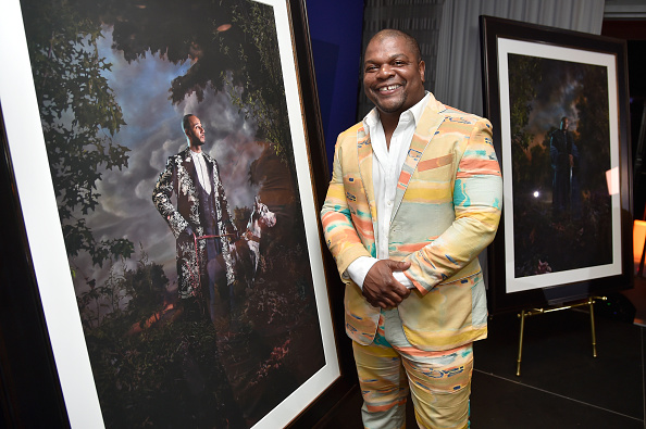 Artist Kehinde Wiley.  (Photo by Frazer Harrison/Getty Images for Grey Goose)