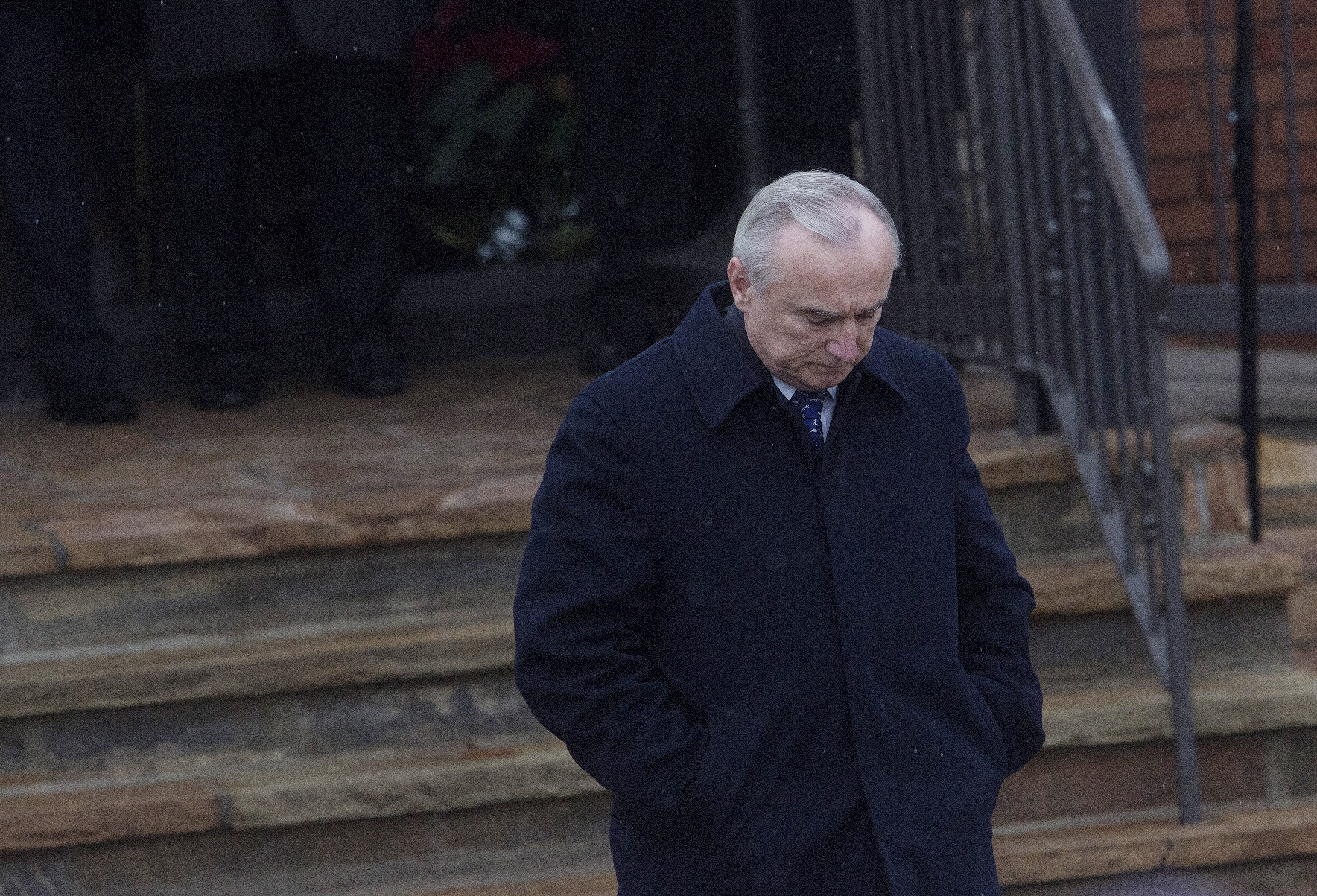 Police Commissioner Bill Bratton today (Photo: Eric Thayer/Getty Images).