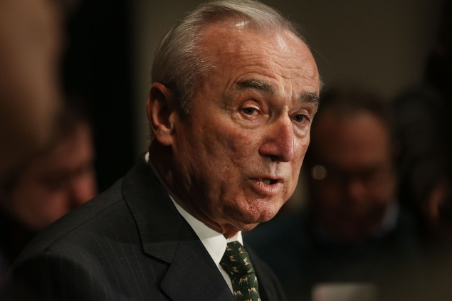 Police Commissioner Bill Bratton. (Photo: Spencer Platt/Getty Images)