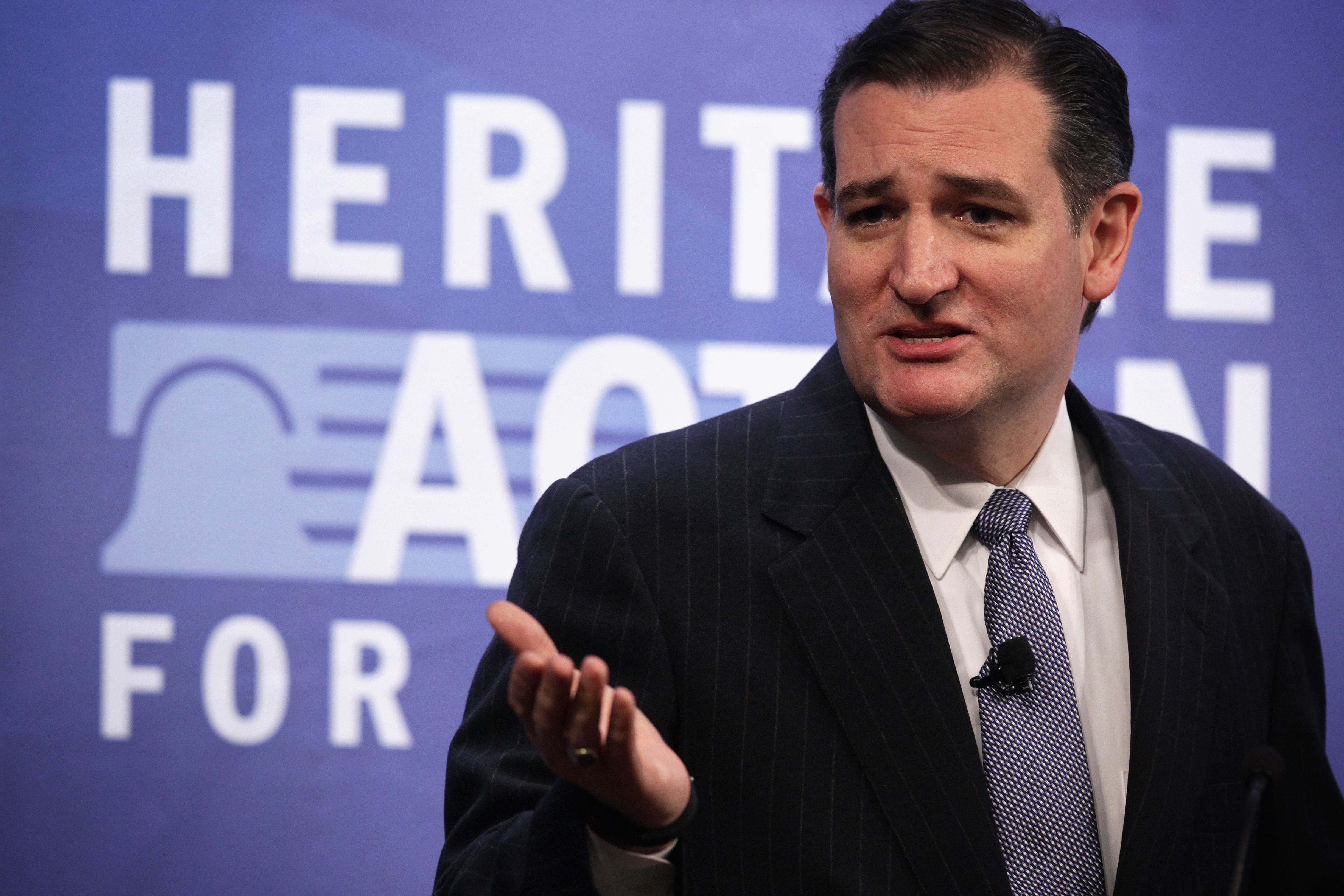 """Sen. Ted Cruz will discuss """"nuclear Iran"""" with Elie Wiesel on Monday. (Photo: Alex Wong)"""