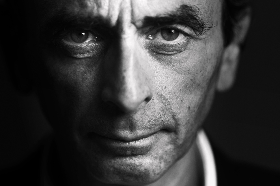 French journalist and writer Eric Zemmour poses at his office in Paris on January 12, 2015. (Photo: Joel Saget/AFP/Getty Images)