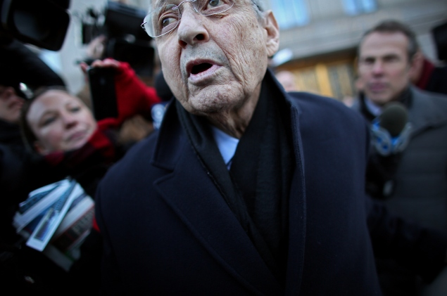 Assembly Speaker Sheldon Silver. (Photo: Yana Paskova/Getty Images)