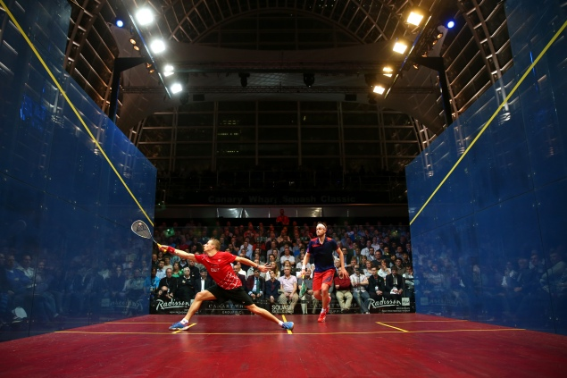 Catch a game of squash on your commute (Getty Images).