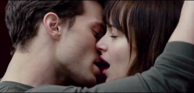 According to America's film critics, Fifty Shades of Grey is not as sexy as this picture would make you believe.