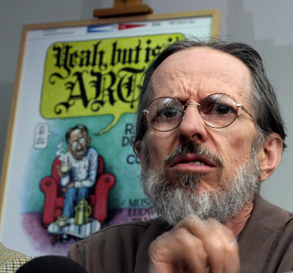 The cartoonist Robert Crumb has lived in France since 1991. (TORSTEN SILZ/AFP/Getty Images)