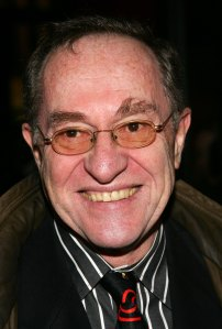 Alan Dershowitz, pictured here in March 2006 in New York City, has come under ferocious and absurd attack.  (Photo by Evan Agostini/Getty Images)