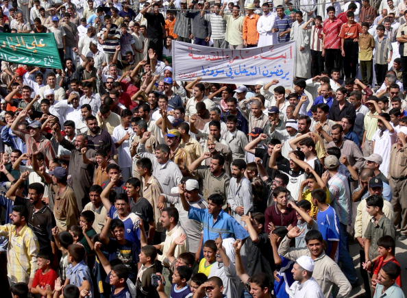 Hundreds of Samarra's residents rally 20