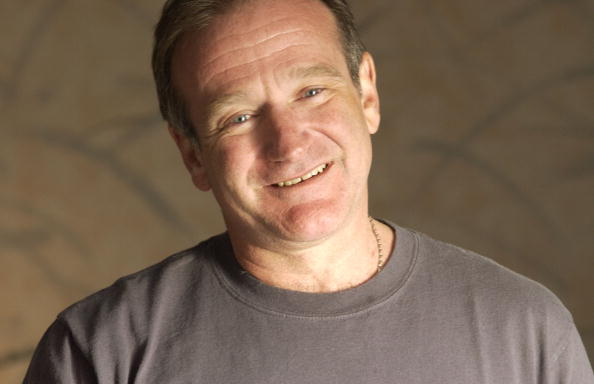 Robin Williams. (Photo by Jeff Vespa/WireImage)