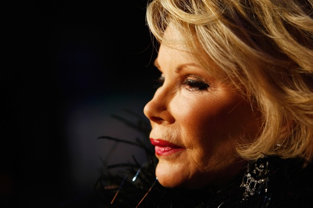 Joan Rivers. (Photo via Getty Images</em)