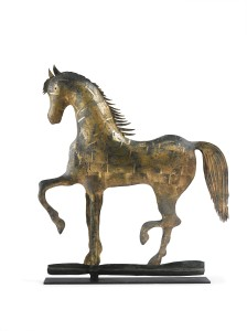 Weathervanes are so hot right now. (Photo courtesy Sotheby's)