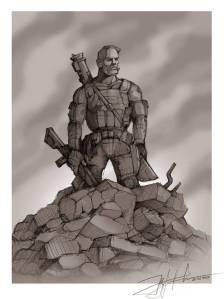 Mythical 'kiborg'