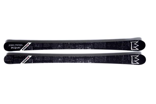 Bomber's Basquiat Crown skis.