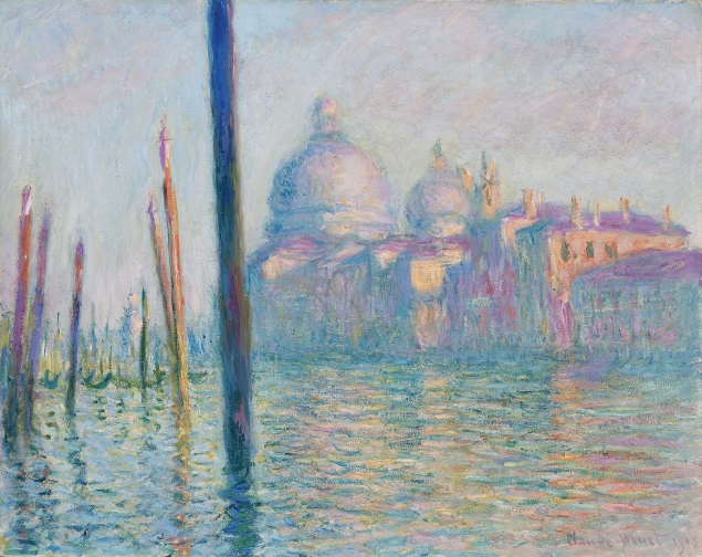 Claude Monet's Le Grand Canal, (1908) is considered one of the most important paintings of Venice. (Image via Wikimedia Commons)