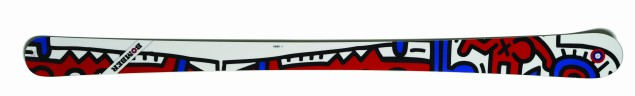 Bomber's Keith Haring skis.