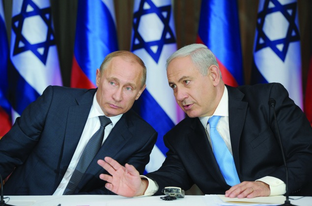 Russia's President Vladimir Putin and Israeli Prime Minister Benjamin Netanyahu  should read (ALEXEY DRUZHININ/AFP/Getty Images)